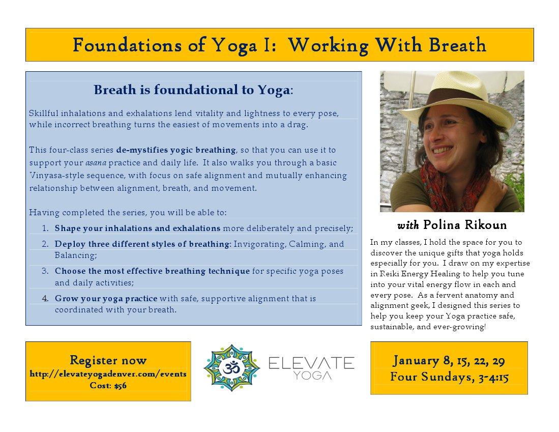 Foundations of Yoga Series I